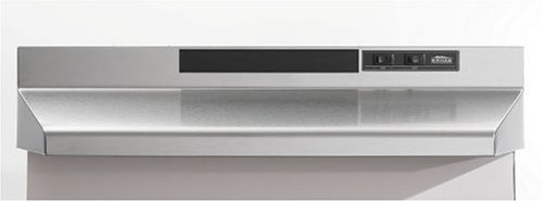 - Broan F403004 Two-Speed Four-Way Convertible Range Hood, 30-Inch, Stainless Steel