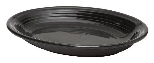 - Fiesta 11-5/8-Inch Oval Platter, Black