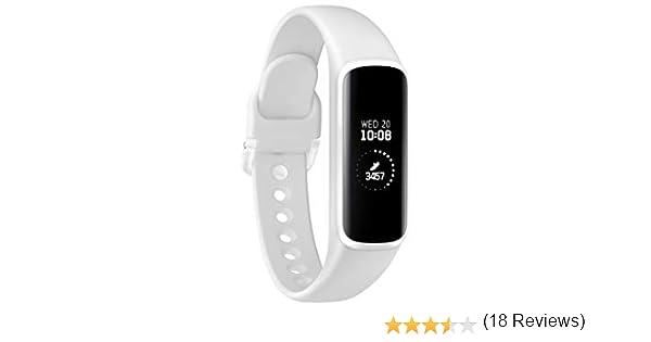 Samsung Galaxy Fit e - Smartwatch, color Blanco: Amazon.es ...