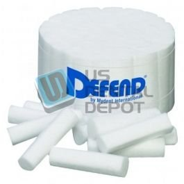 DEFEND- Cotton Rolls 2000 Box ( Mfg # CS=0200 ) [ rolete ro 111358 Us Depot
