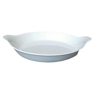 Bia Cordon Bleu Inc 900049 8 Oz White Oval Porcelain Au Gratin Bowl