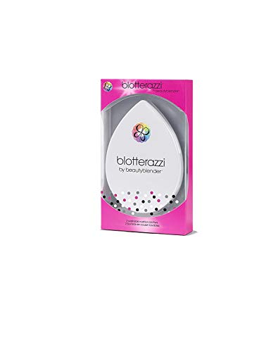 BEAUTYBLENDER Blotterazzi Reusable Makeup Blotting Pad with Mirrored Compact. Vegan, Cruelty Free and Made in the USA
