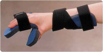 Kwik-Form Functional Resting Splint Right Size: S/M up to 7¼