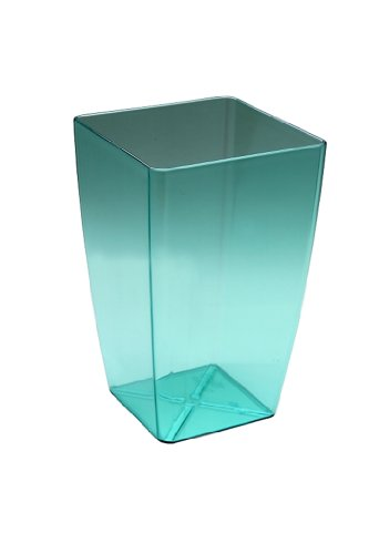Plastia Selbstbewässerungstopf für Orchideen, Mimosa 15, transparent glas