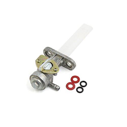 uxcell Metal Motorcycle Scooter Fuel Tap Gas Petrol Petcock Valve Switch for GS-125 ()