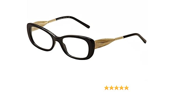 c175fd9703f Burberry Women s BE2203 Eyeglasses Black 52mm at Amazon Women s Clothing  store