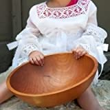 Extra Large Handmade Wood Salad Bowl