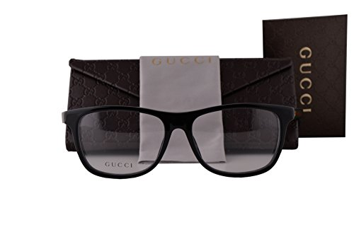 Gucci GG 3725 Eyeglasses Shiny Black 52-15-140 29A - 62mm Sunglasses Retro Gucci