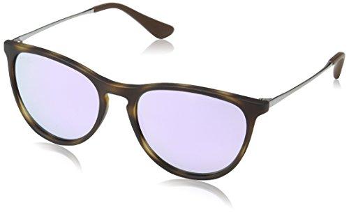 Price comparison product image Ray-Ban Girls' Izzy Junior Round Sunglasses, Havana Rubber 70064v, 50 mm