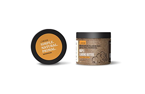 Paleo Almond Butter, Maple Almond, 100% Paleo Certified and Gluten Free Almond Butter, 6g Protein Per Serving, Crafted by Base Culture (1 ()