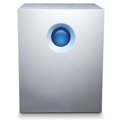 LaCie 5Big RAID 40TB Thunderbolt 2 7200RPM External Hard Drive + 1mo Adobe CC All Apps (STFC40000400)