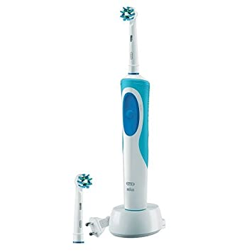 Braun Oral-B Vitality Dual Clean - Cepillo de dientes eléctrico de rotación, color azul: Amazon.es: Salud y cuidado personal