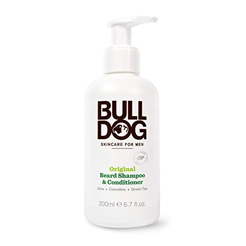 Bulldog Skincare and Grooming For Men Original Beard Shampoo and Conditioner, 6.7 Ounce (Best Men's Beard Conditioner)