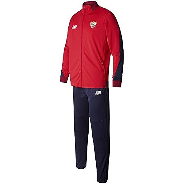 New Balance Chandal Sevilla FC Camiseta, Hombre, Rojo/Azul, XL ...