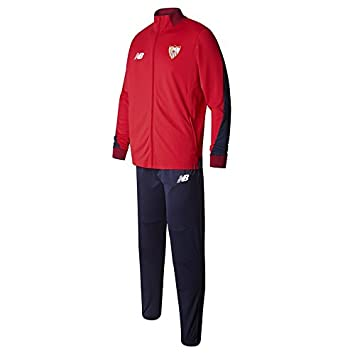 New Balance Chandal Sevilla FC Camiseta, Hombre, Rojo/Azul, XL: Amazon.es: Deportes y aire libre