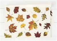 Hester and Cook Fall Foliage Paper Placemat - Pad of 30
