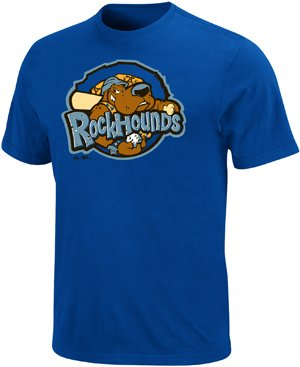Minor League Midland RockHounds T-Shirt Style Jersey (Youth (Rockhounds Minor League T-shirt)