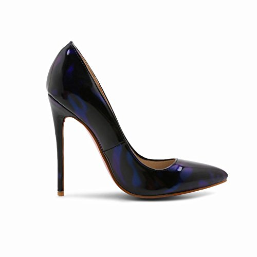 Mee Shoes Women's Sexy High Heel Assorted Color Pointed Toe Dress Shoes Blue ma7udCwU