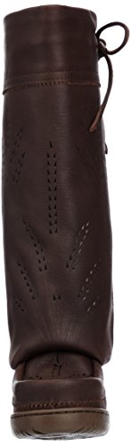 821519043629 - Manitobah Mukluks Women's Tall Gatherer Mukluk Winter Boot, Cocoa, 6 M US carousel main 3