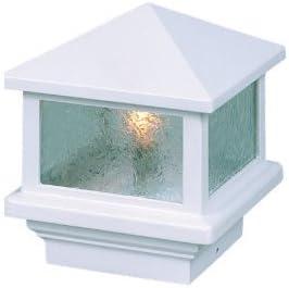 Sirius 12V Deck Light, 4 Post, 1.6W LED, White