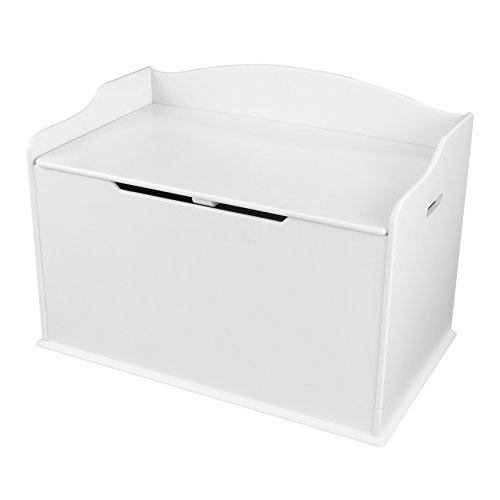 - KidKraft Austin Toy Box, White