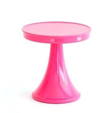 (Glitterville Melamine Pedestal Cupcake Dessert Stand, 5.5 Inches, Hot)