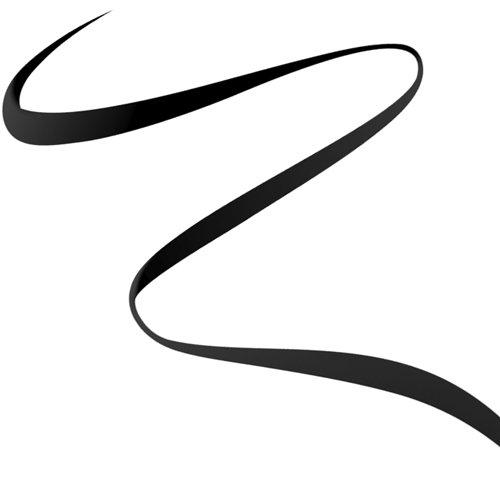 Rimmel Exaggerate Felt Tip Eye Liner, Black, 1 Count, Easy Precise Application Long Lasting Felt Tip Liquid Eye Liner pen