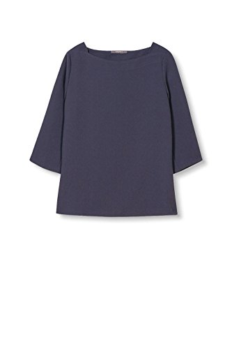 navy Blusa Azul Mujer Para Esprit Collection xBZR66