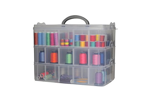 Bins Things Storage Container with 30 Adjustable Compartments for