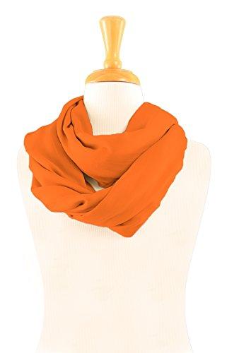 1 Orange La Choix Votre Couleur Femmes Pour De Unicolore Sarongs Dans World Foulard w7SgHIqxO