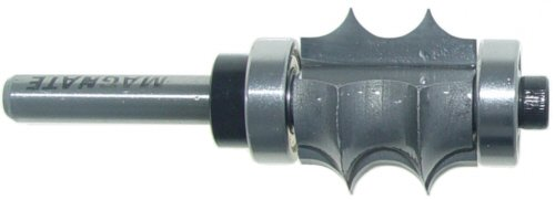 Magnate 5851 Multi-Edge Beading Carbide Tipped Router Bit - 3/16