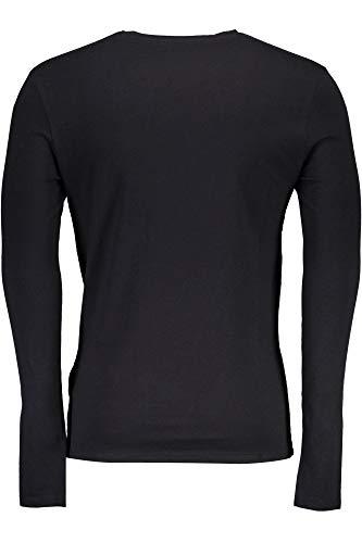 Guess Lunghe Jblk Maniche Jeans Uomo shirt Nero T M84i37j1300 wwBaUqF