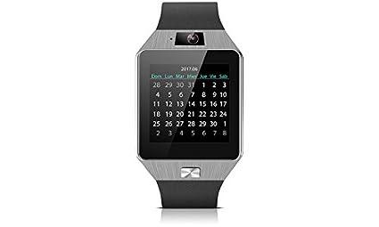 Smartwatch SW-842 para Android y iOS (Negro): Amazon.es ...