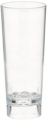 Fineline Settings 10-Piece Tiny Temptations Cordial Shot Glass, 2-Ounce, Clear -
