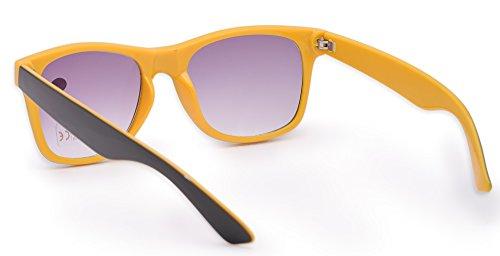 de nbsp;fuerza Mujer sol 1 UV sol gafas marca 5 4sold hombre de 4sold nbsp;marrón lectura gafas lectores Reader carey UV400 Unisex Yellow de Black para Estilo 8qpzFz6PI