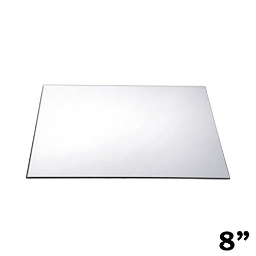 BalsaCircle 12 pcs 8-Inch Square Glass Mirrors for Wedding Party Favors Centerpieces Table Decorations Wholesale Supplies]()