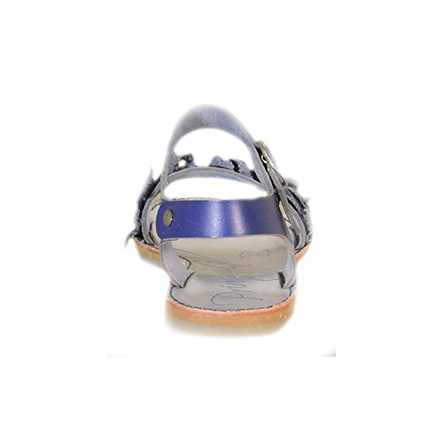 Primigi - Primigi Sandalias Niña Plata Cuero Hebilla 83301 - Azul, 31
