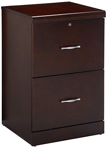 Z-Line Designs ZL8880-22VFU 2-Drawer Vertical File Cabinet, Espresso (Vertical 2 Cabinet Drawer File)