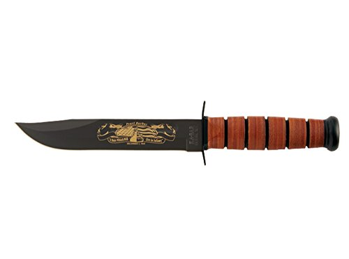 US Navy Iwo Jima Commerative Commerative Commerative Knife, Leather Handle, Plain B0006705PM | Online einkaufen  ebd465