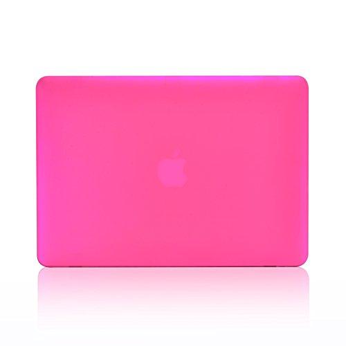 INV DESIGN - 13-Inch Rubberized Hard Case for Macbook White 13