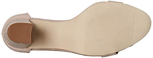 Madden Girl Women's Beella Dress Sandal, Blush Fabric, 10 M US
