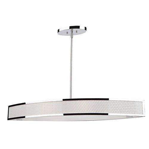 Large Oval Pendant Light - 6