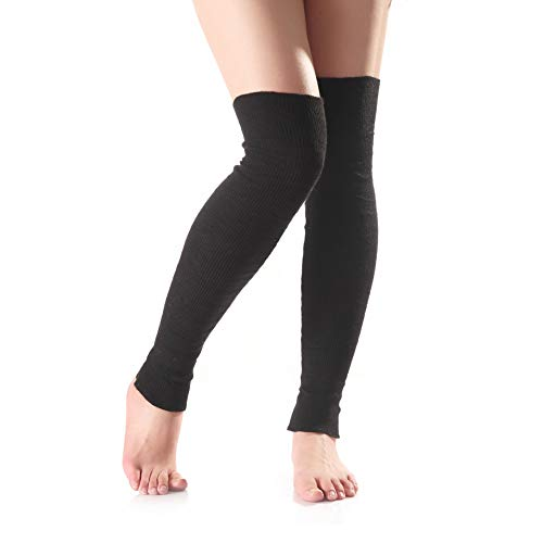 Amazon.com: Song Qing - Calentadores de piernas de yoga para ...