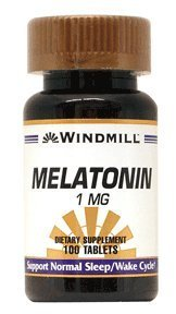 windmill melatonin tablets support normal