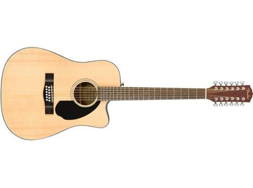 - Fender CD-60SCE Dreadnought 12-String Acoustic-Electric Guitar