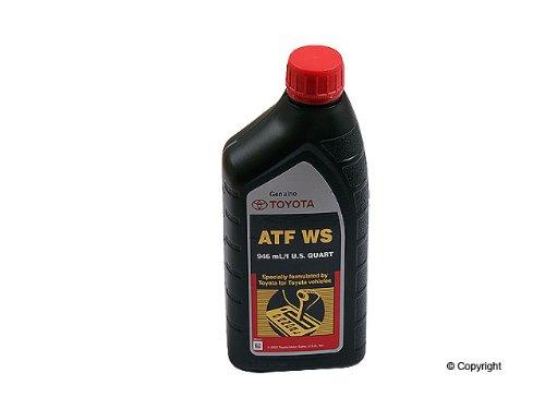 Genuine Toyota Lexus Automatic Transmission Fluid 1QT WS ATF World Standard