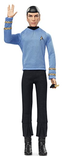 Spock Barbie Star Trek 50th Anniversary Action Figure