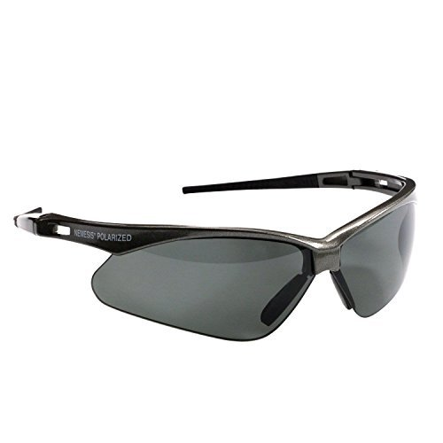 Jackson Safety Nemesis(V30) Polarized glasses - 3023625 / 28635 Gunmetal Frame, smoke lens. Sold by CVPKG