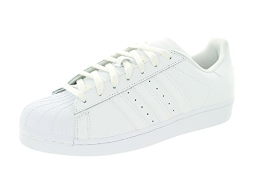 adidas Originals Men's Superstar Foundation Casual Sneaker, White/Running White/White, 9 D(M) US (Adidas Star)