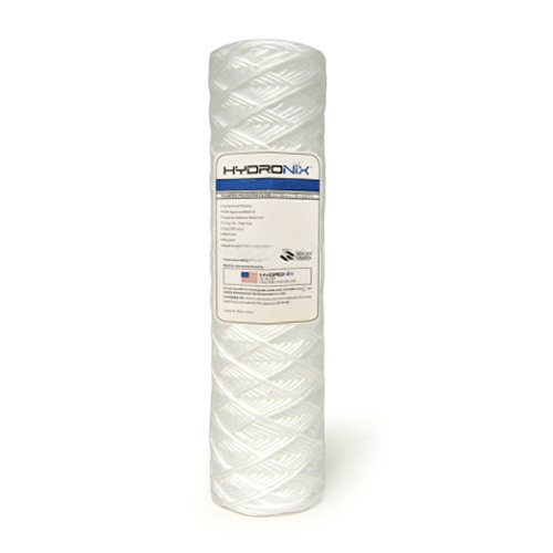 Hydronix SWC-25-1050 String Wound Filter 2.5 OD X 10 Length 50 Micron